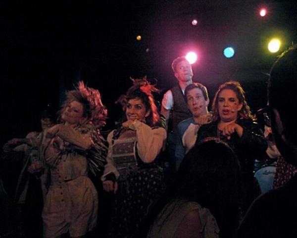 Ruby Lewis, Angela Pupello, Anderson Davis, Barrett Foa and Kate Pazakis Photo