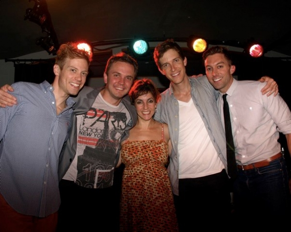 Creative Team: Barrett Foa, Shane Scheel, Angela Pupello, Anderson Davis and Chad Hodge