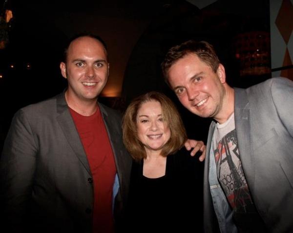 Edward Allen, Donna Pescow, and Shane Scheel Photo