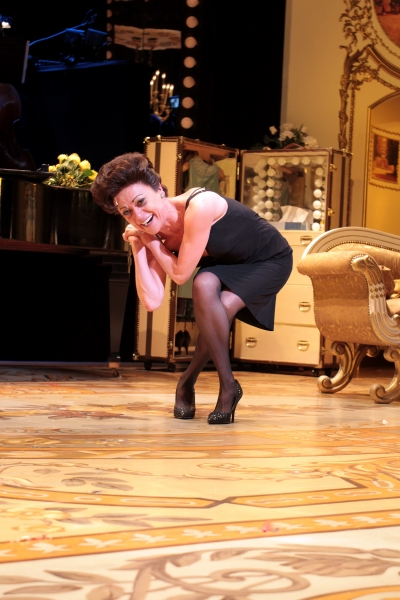 Tracie Bennett at Final Curtain Call for END OF THE RAINBOW on Broadway