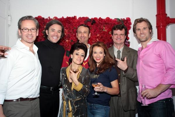 Don Noble, Tom Pelphrey, Tracie Bennett, Jay Russell, Sarah Uriarte Berry, Erik Hager Photo