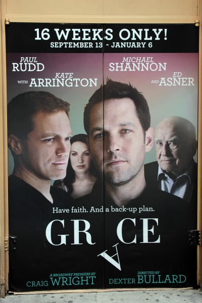 Up on the Marquee- GRACE!