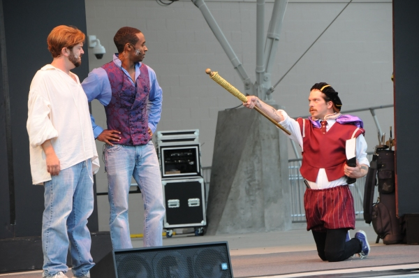 Photo Flash: First Look at Actors' Theatre's THE COMPLETE WORKS OF WILLIAM SHAKESPEARE (Abridged)