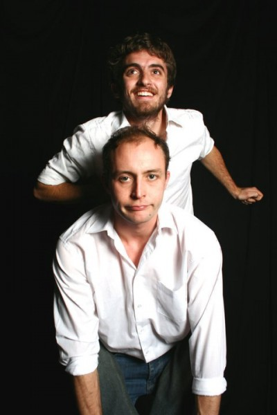 Mathew Lewis (top) and Andrew Laubscher (bottom) in MAFEKING ROAD