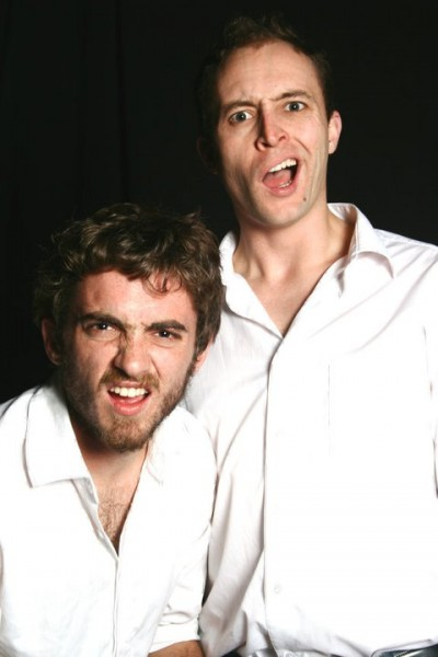 Mathew Lewis (left) and Andrew Laubscher (right) in MAFEKING ROAD