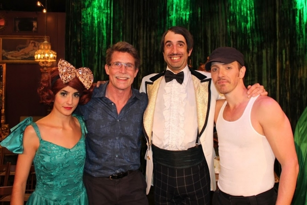 Celebrity Chef Rick Bayless with ABSINTHE's The Gazillionaire, Penny Pibbets and Tony Hernandez