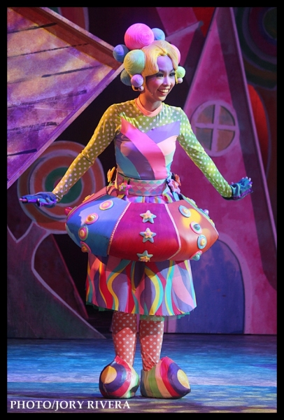 Kyla Rivera at Multimedia Flash: On Stage with Repertory Philippines' THE WIZARD OF OZ