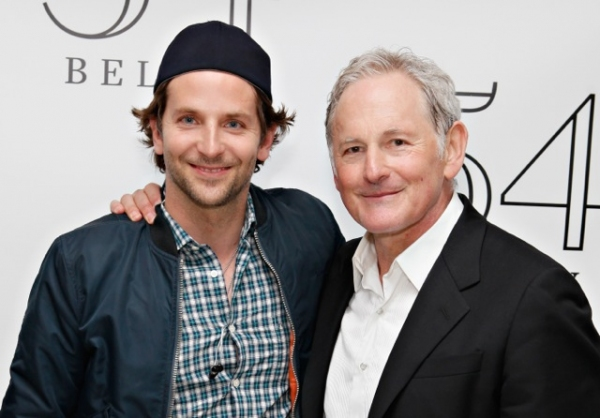 Bradley Cooper, Victor Garber at Bradley Cooper, Nathan Lane, and More Visit Victor Garber at 54 Below!