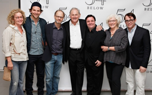 Amy Irving, Bradley Cooper, David Hyde Pierce, Victor Garber, Nathan Lane, Betty Buckley, Matthew Broderick at Bradley Cooper, Nathan Lane, and More Visit Victor Garber at 54 Below!
