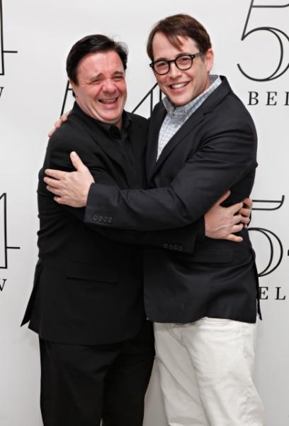 Nathan Lane, Matthew Broderick at Bradley Cooper, Nathan Lane, and More Visit Victor Garber at 54 Below!