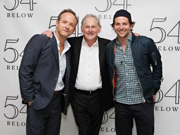 Photo Flash: Bradley Cooper, Nathan Lane, and More Visit Victor Garber at 54 Below!