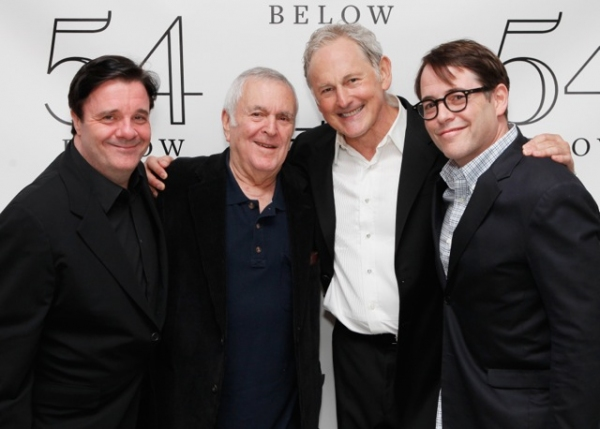 Nathan Lane, John Kander, Victor Garber, Matthew Broderick at Bradley Cooper, Nathan Lane, and More Visit Victor Garber at 54 Below!