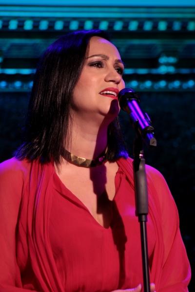 Eden Espinosa at Eden Espinoza, Titus Burgess, Faith Prince & More Give Concert Preview at 54 Below!
