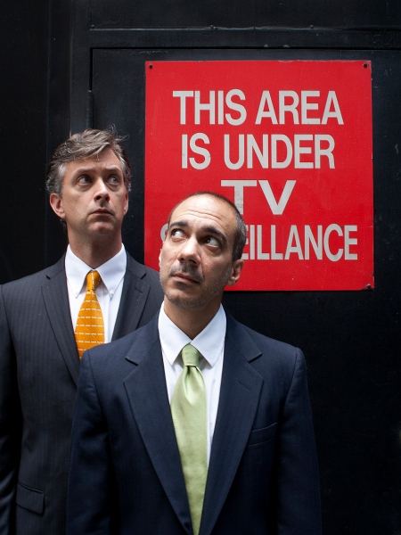 Michael Frederic and Evan Zes