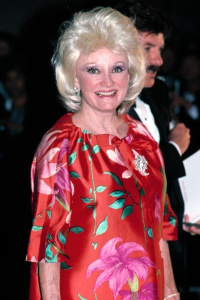 Phyllis Diller in New York.  September 1985