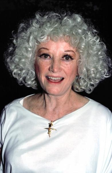 Phyllis Diller  in New York City. 1988