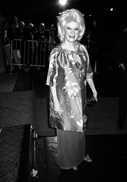 Phyllis Diller in Los Angeles, California.  September 1985
