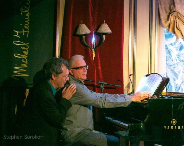 Music Director David Caldwell & Ron Abel at Raissa Katona Bennett Brings ANOTHER KIND OF LIGHT to Feinstein's