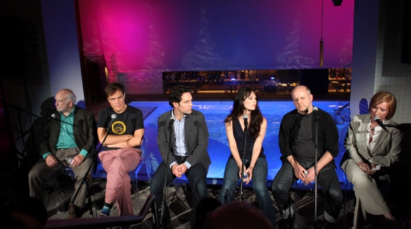 Ed Asner, Michael Shannon, Paul Rudd, Kate Arrington and director Dexter Bullard