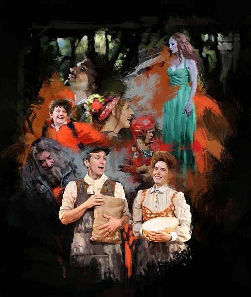 BWW Exclusive STAGE ART- INTO THE WOODS!