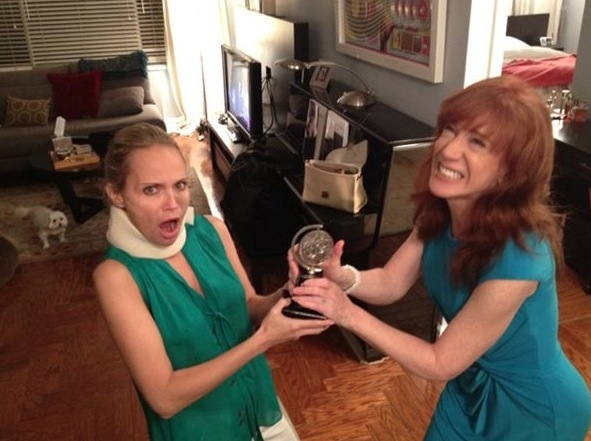 Kristin Chenoweth Spends Recovery Time with Kathy Griffin!