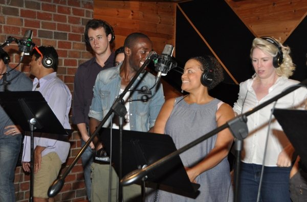 BWW Photo Exclusive: JERSEY BOYS Cast Records for 'Carols For A Cure'