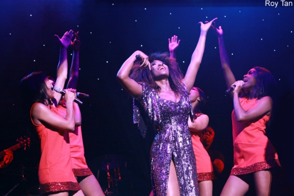 Photo Flash: First Look at Emi Wokoma as 'Tina Turner' in SOUL SISTER on the West End!