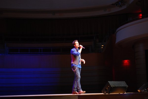 Bryan Fenkart at Segerstrom Center for the Arts Previews 2012-13 B'way Season