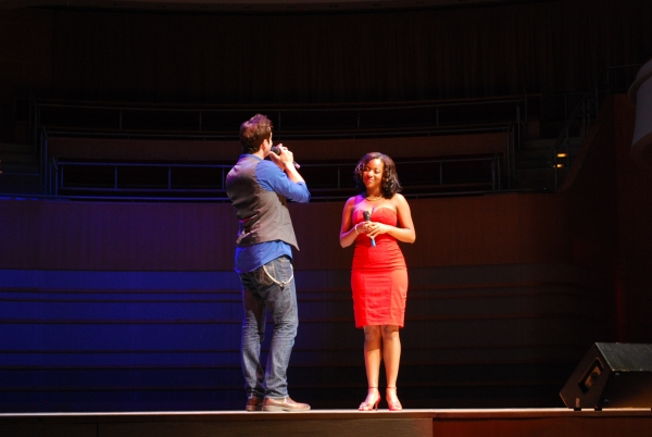 Bryan Fenkart, Crystal Joy at Segerstrom Center for the Arts Previews 2012-13 B'way Season