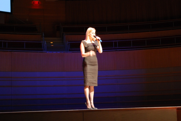 Angel Reda at Segerstrom Center for the Arts Previews 2012-13 B'way Season