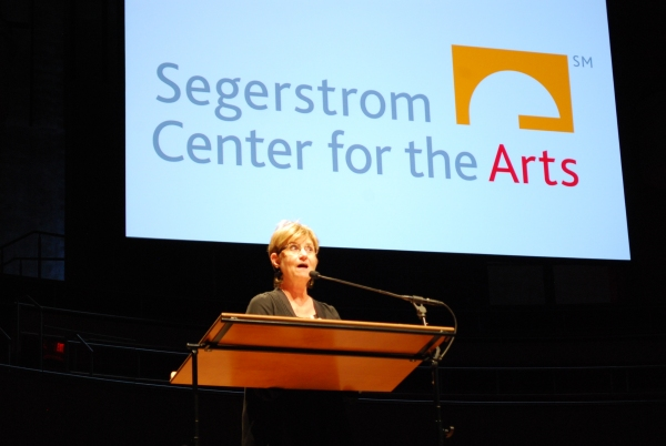 Segerstrom Center Executive Vice President Judy Morr