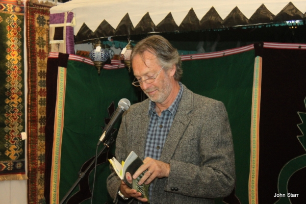 Photo Flash: Poetry in the Persian Tent Opens at Edinburgh's Festival of Spirituality and Peace