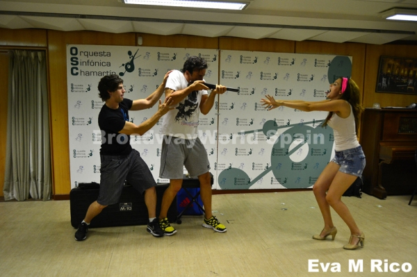 Photos: Ensayos de Evil Dead, El Musical