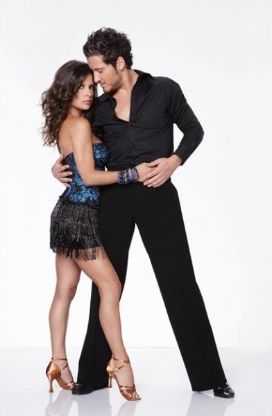 Kelly Monaco, Valentin Chmerkovskiy at ABC Gives a First Look at DANCING WITH THE STARS: ALL STARS Dance Couples!