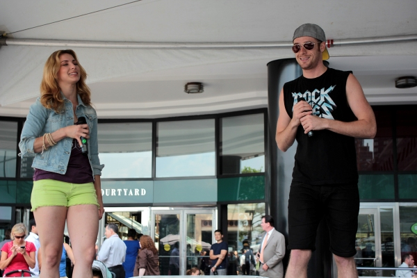 Photo Coverage: ROCK OF AGES, MAMMA MIA!, and More Perform at 'Taste of Broadway'