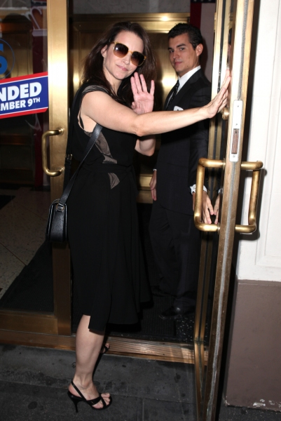 Kristin Davis at Kristin Davis, John Larroquette, and More Celebrate Gore Vidal