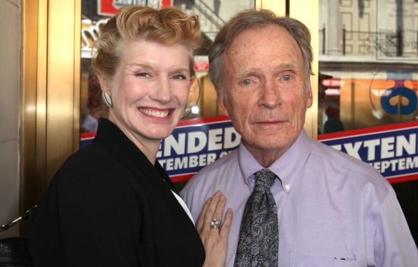 Dick Cavett & wife at Kristin Davis, John Larroquette, and More Celebrate Gore Vidal