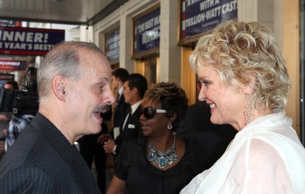 Jeffrey Richards & Christine Ebersol at Kristin Davis, John Larroquette, and More Celebrate Gore Vidal