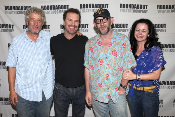 Bill Buell, Douglas Hodge, Max Baker and Geraldine Hughes