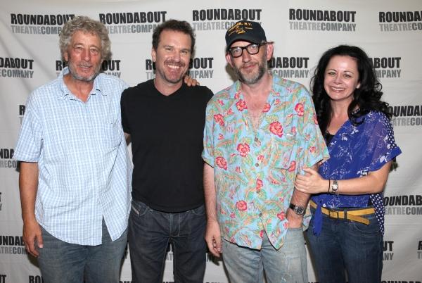 Bill Buell, Douglas Hodge, Max Baker and Geraldine Hughes