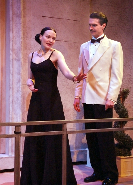 Photo Flash: First Look at Rubicon Theatre's PRIVATE LIVES, Opening 9/8