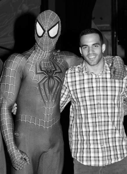 Danell Leyva & Spider-Man