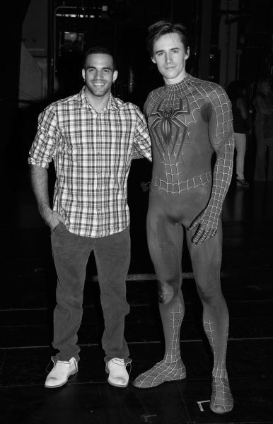 Photo Coverage: Olympic Gymnast Danell Leyva Visits SPIDER-MAN
