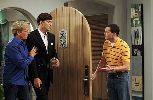 Photo Flash: First Look - Michael Bolton Guests on Season Premiere of TWO AND A HALF MEN