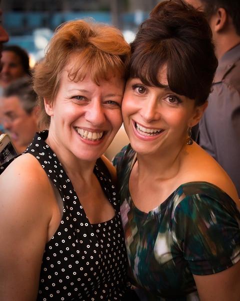 Sara Pedri and Melissa Fahn Photo