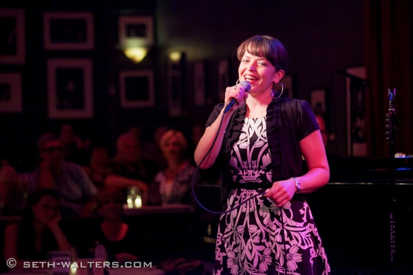 Jenna Esposito at Iain Armitage, Jenna Esposito & More at Jim Caruso's Cast Party at Birdland