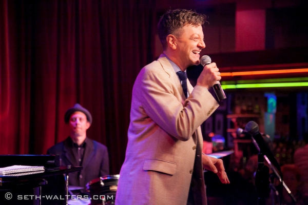 Photo Flash: Iain Armitage, Jenna Esposito & More at Jim Caruso's Cast Party at Birdland