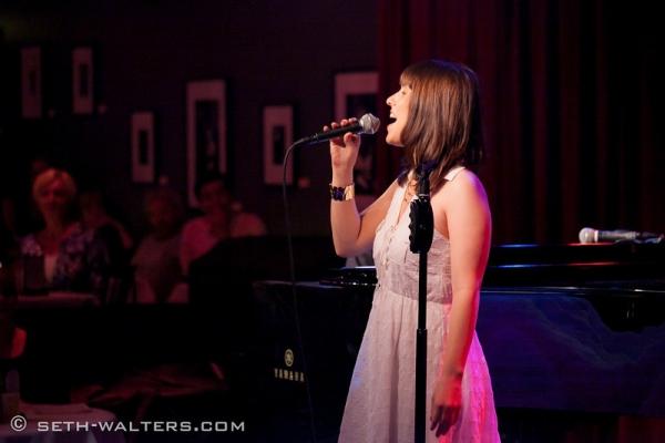Photo Flash: Iain Armitage, Jenna Esposito & More at Jim Caruso's Cast Party at Birdland