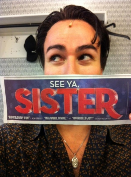 Photo Flash: Saturday Intermission Pics, Aug 25 - Goodbye MAMMA MIA! and SISTER ACT, Hello CHAPLIN!