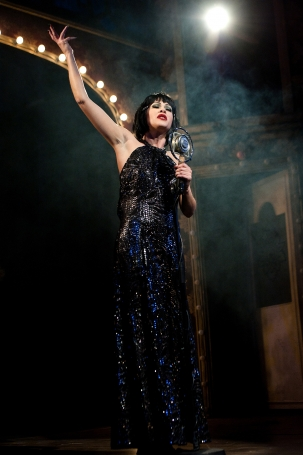 Samantha Peo as Sally Bowles in CABARET
